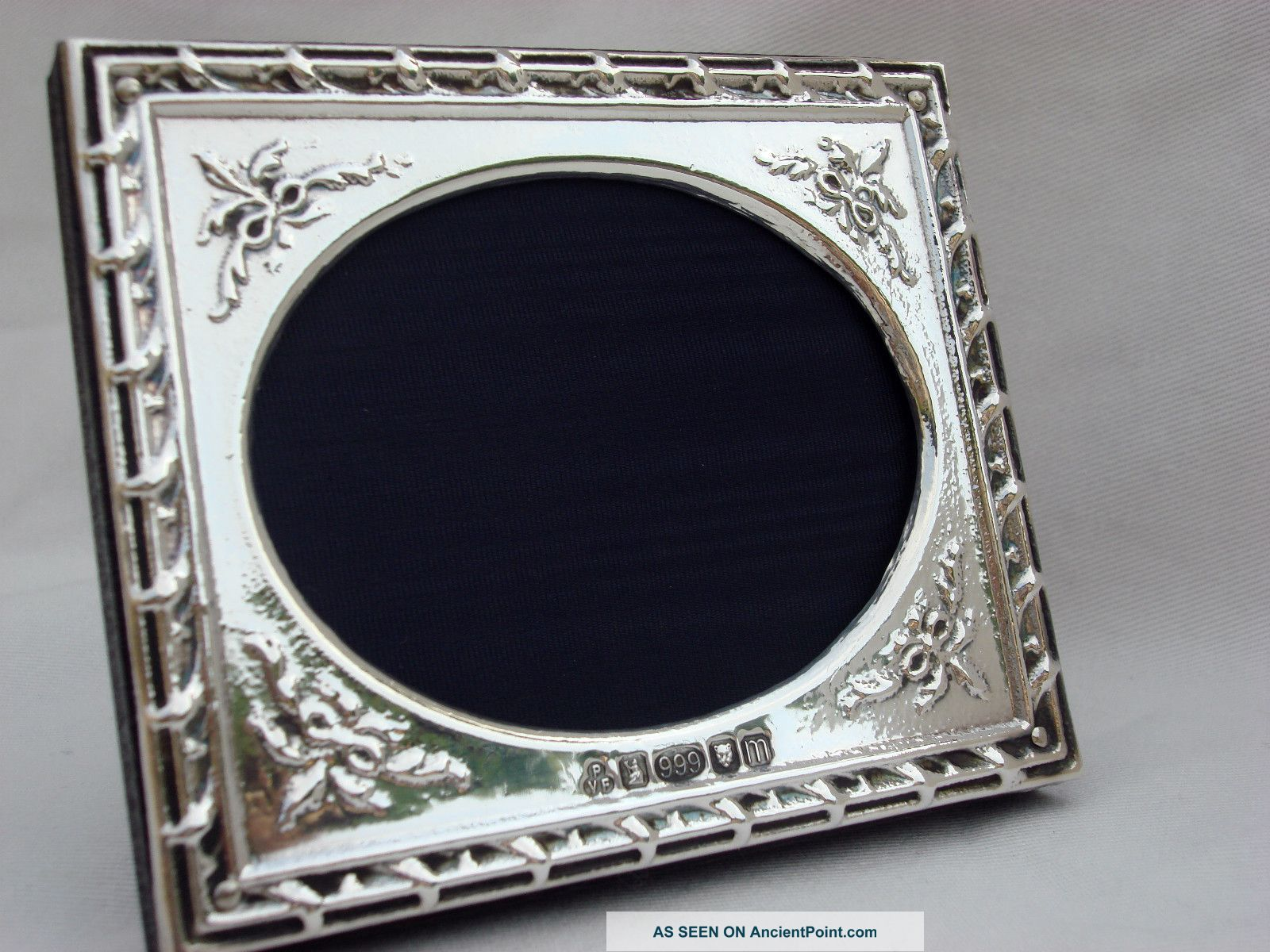 Finest Quality Silver 999 London Hallmarked Photo Frame Frames photo