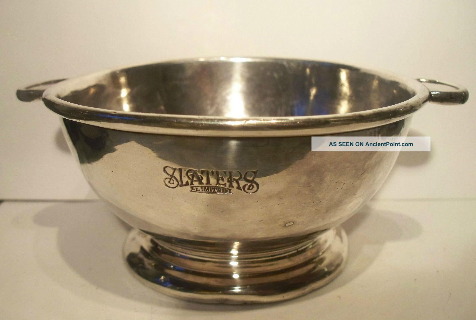 Quaich Porringer Walker & Hall Sheffield Silver Plate Antique 1861 - 1890 Cups & Goblets photo