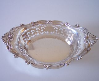 Gorham Sterling Silver C1915 Master Nut Dish 8