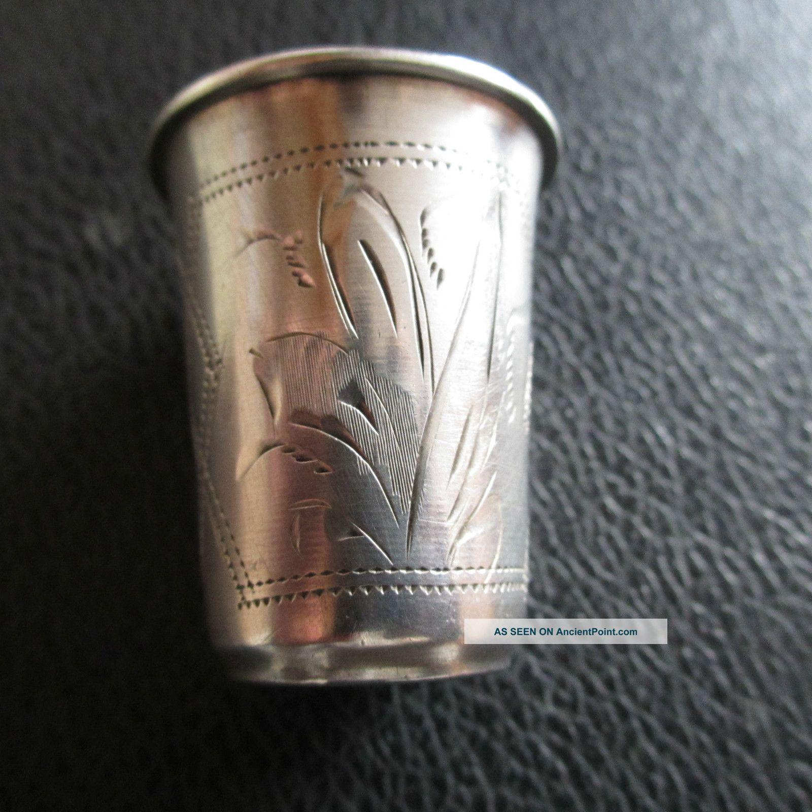 84 Russian Silver Vodka Cup, Russia photo