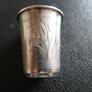 84 Russian Silver Vodka Cup, photo