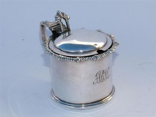 High Quality Victorian Elkington Silver Plate Mustard Condiment Pot photo