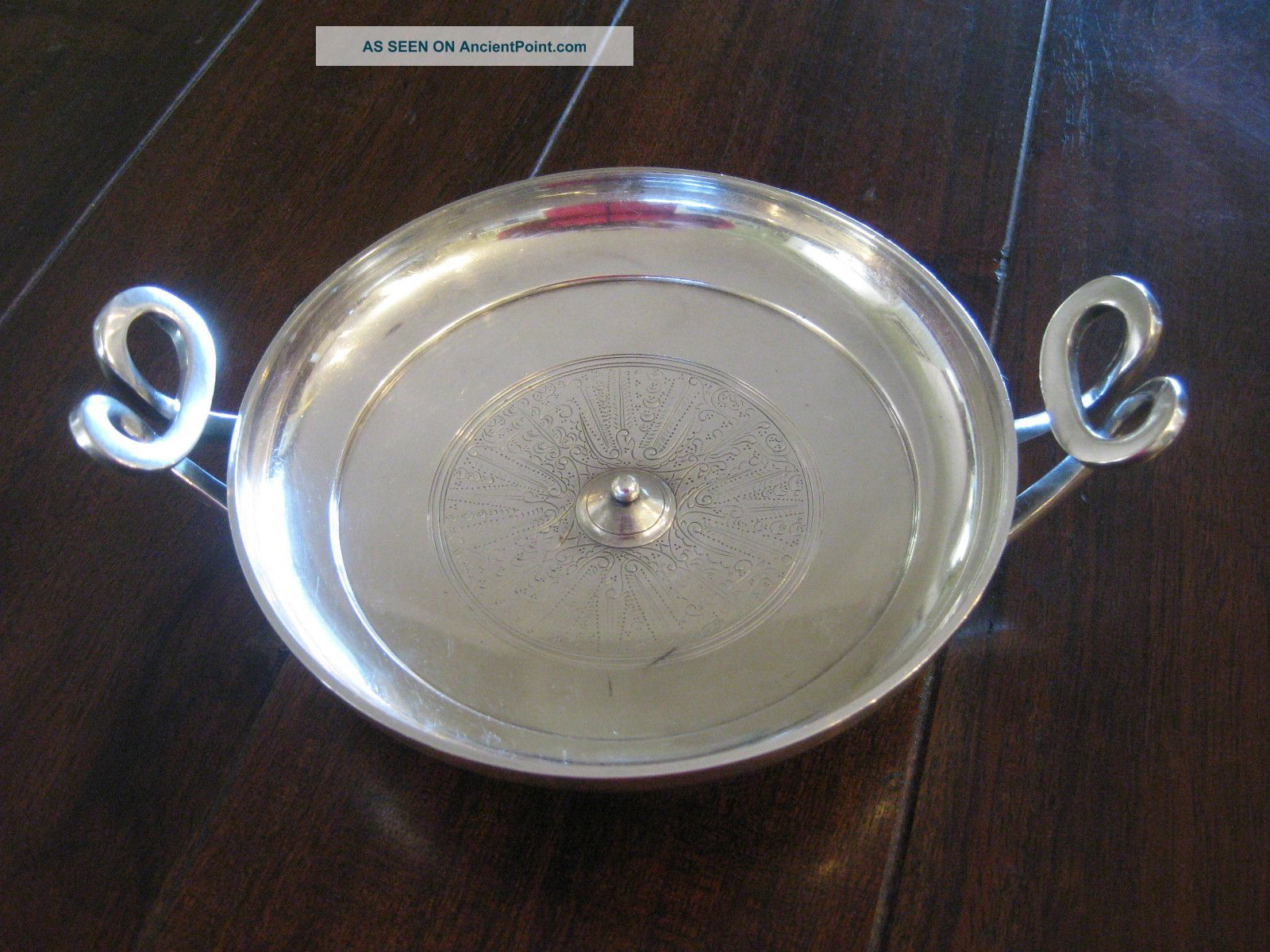 Gorham Greek Kylix Silverplate Metropolitan Museum Of Art Antique Bowl Bowls photo