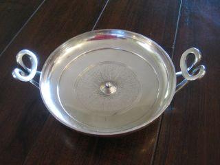Gorham Greek Kylix Silverplate Metropolitan Museum Of Art Antique Bowl photo