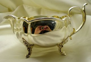 Reed & Barton Winthrop Silver Plated Gravy Boat 1795a photo