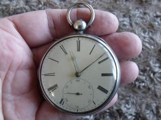 Silver Fusee Pocket Watch ' Frodsham,  Gracechurch St.  London,  No.  853 ' 1830 photo