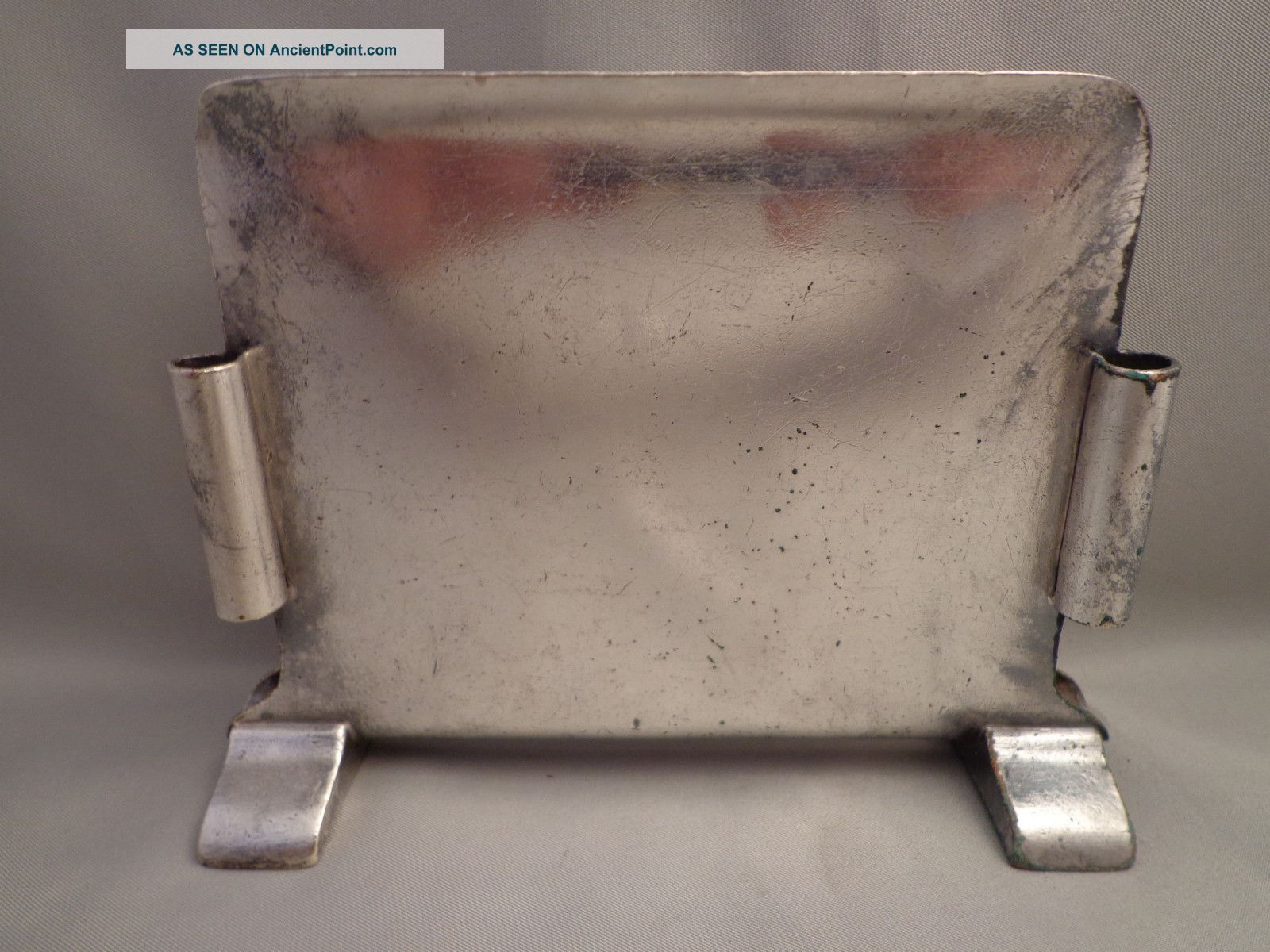 Illinois Central Icrr Ic System Railroad Dining Car Menu Holder Int Silver Rr Other photo