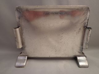 Illinois Central Icrr Ic System Railroad Dining Car Menu Holder Int Silver Rr photo