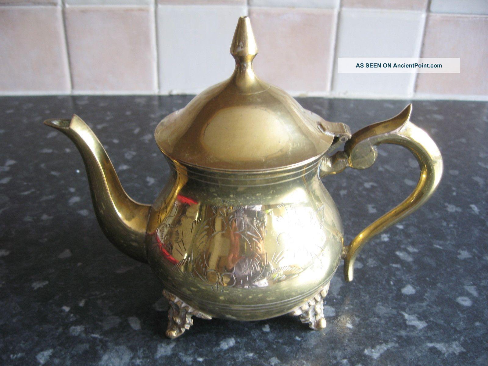 Stylish Silver Plated Tea Pot Tea/Coffee Pots & Sets photo
