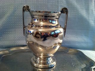 Reed Barton Silverplate Champagne Bucket photo