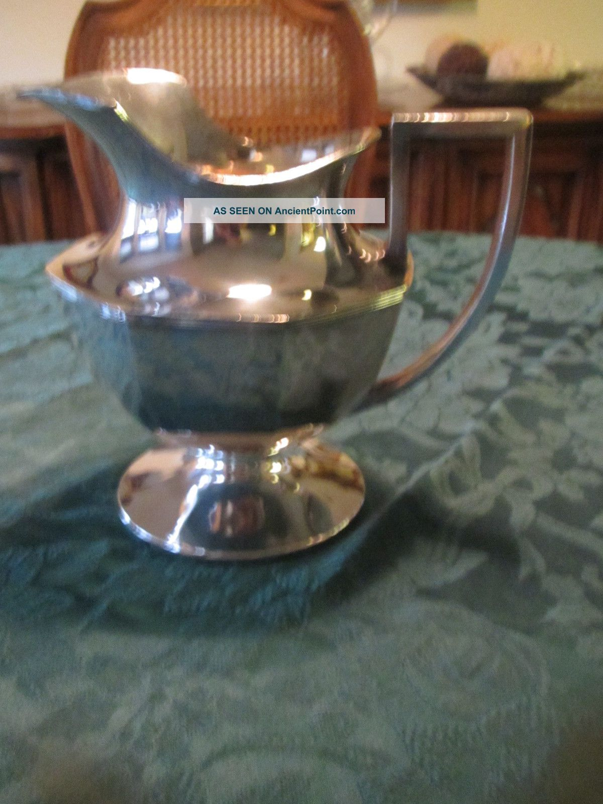 Sheffield Silver Plated Pitcher Other photo
