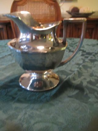 Sheffield Silver Plated Pitcher photo