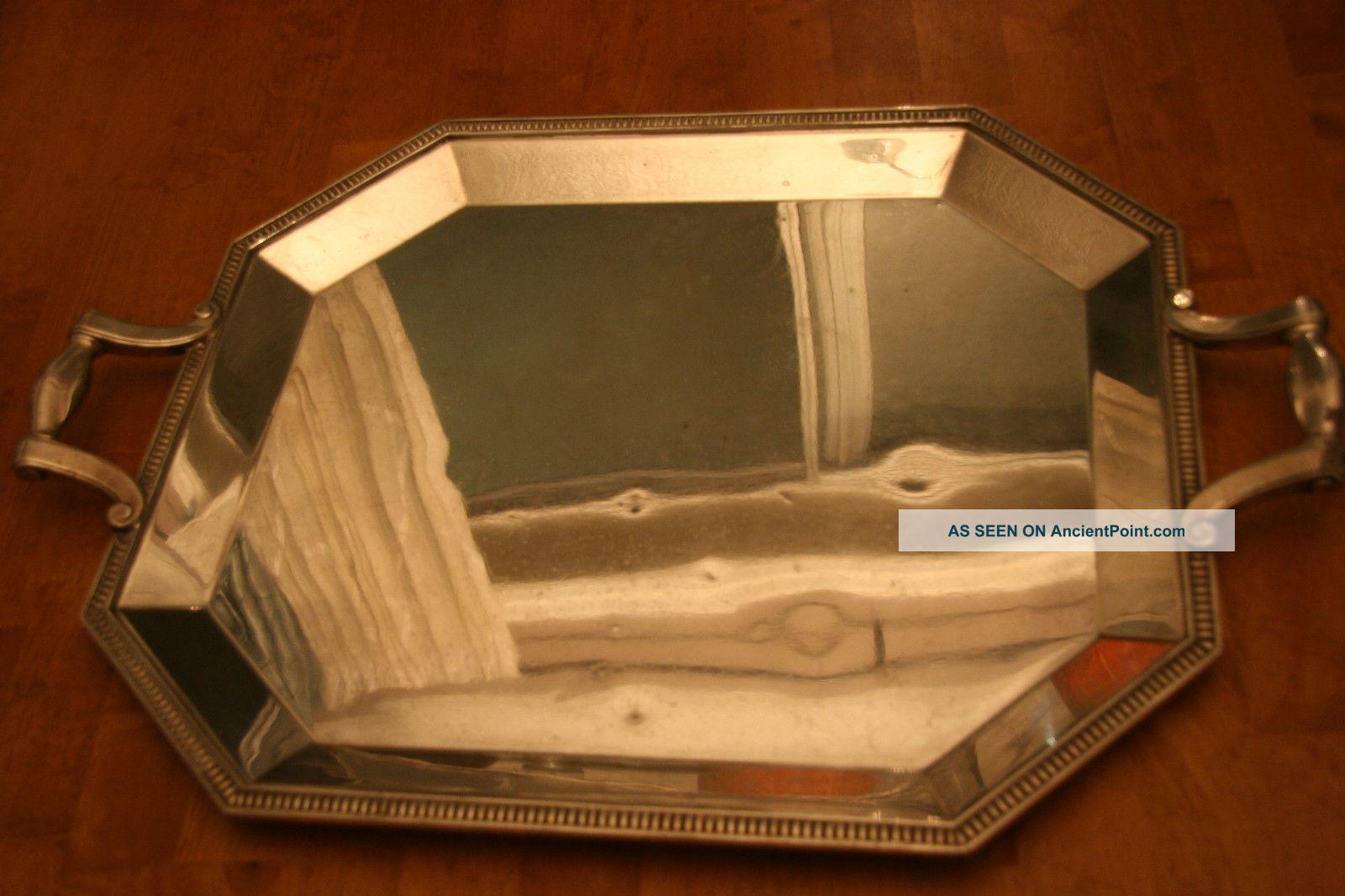 Large Christofle Silverplate Tray Platters & Trays photo