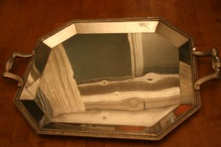 Large Christofle Silverplate Tray photo