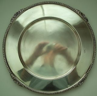 Hard Soldered Silverplate Dish By Cross Arrows photo