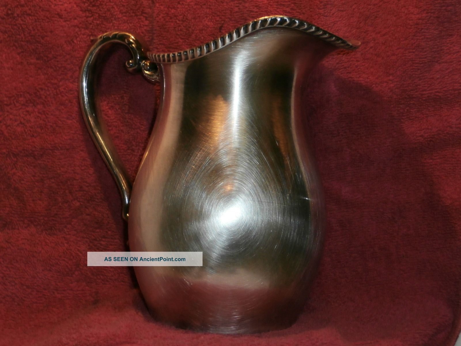 Silver Plated Water Pitcher Pitchers & Jugs photo