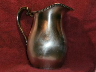 Silver Plated Water Pitcher photo