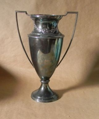 Large Silverplate Trophy - Impressive - Gen.  Chas.  Mc.  C Reeve.  Cup ?? photo