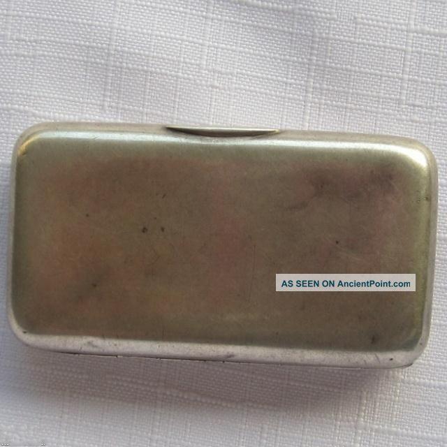 Imperial Russian Silver (84) Cigarette Case 76gr Russia photo