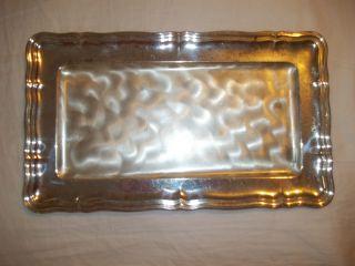 Ikora Silver Platter Antique photo