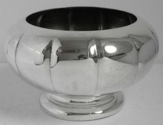 Silver Plated Rose Bowl Bud Vase Flower Potpourri Holder Marlboro Plate photo