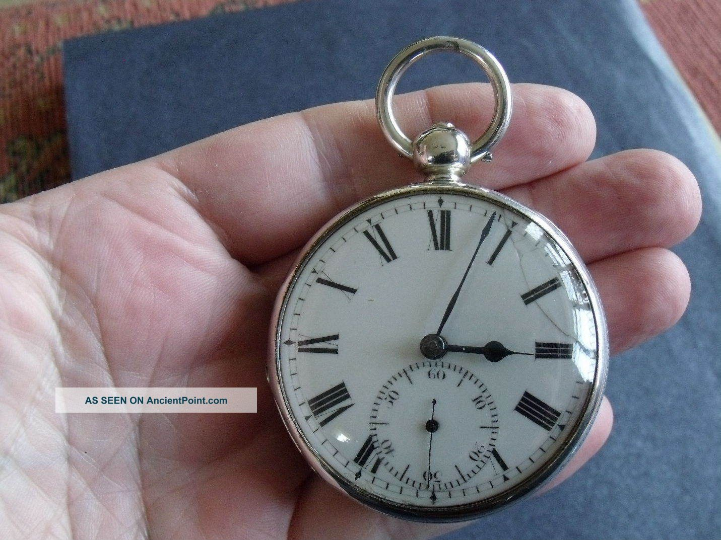 Rare Patent Rack Lever Pocket Watch ' Turnbull & Leach,  Kingston,  Jamaica ' Pocket Watches/ Chains/ Fobs photo