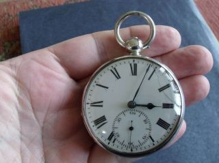 Rare Patent Rack Lever Pocket Watch ' Turnbull & Leach,  Kingston,  Jamaica ' photo