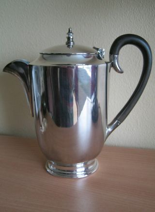 Quality Silver Plated Hot Water Jug By Hawksworth,  Eyre & Co photo