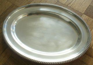 , Oval,  Gladwins Ltd,  Embassy Plate Tray 1930 ' S photo