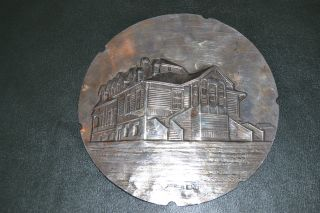 Russian Silver 1888 House And St Petersbourg Plates photo