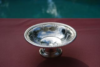 Small Sterling Compote - Unknown Makers Mark photo