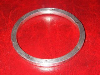 Chester Sterling Solid Silver Bracelet Ladies Bangle photo