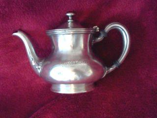The Rathskeller Hotel Coffee/tea Pot R W Wallace Silver Solder 10 Oz photo