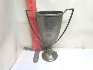 Essex Quadruple Plated Loving Cup - Whitefish Bay Woman ' S Club 1924 photo