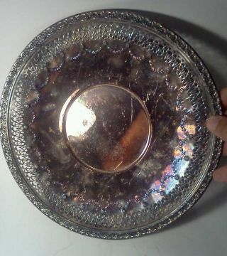 Vintage Silverplated Reed And Barton Platter photo