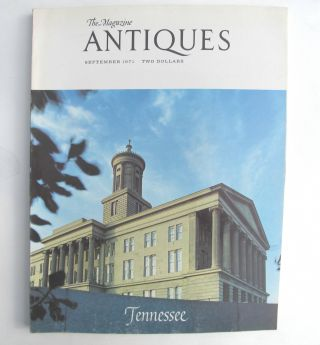 All Tennessee Issue Antiques 1971 - 13 Illus.  Articles Coin Silver & Furniture photo