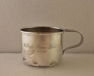 Vintage Gorham Sterling Silver Baby Infant Childs Cup Monogrammed 71 Grams photo