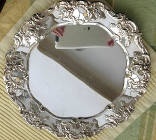 Towle Silverplate Bowl W/matching Platter photo
