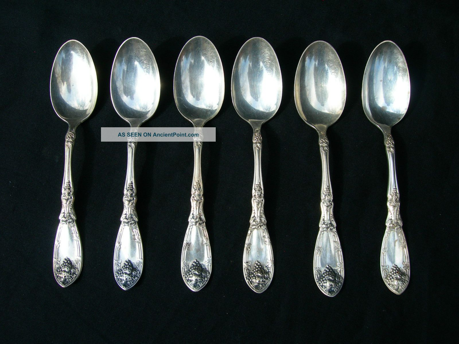 6 Rogers 1881 A1 Silver Plated Spoons.  Condition Oneida/Wm. A. Rogers photo