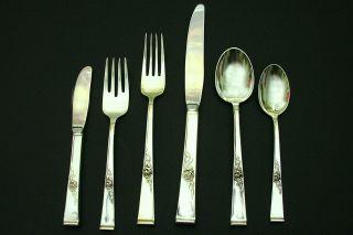 """Wallace Grande Baroque Sterling Silver Salad Fork 6 1//2/"""" 43g No Mono"""