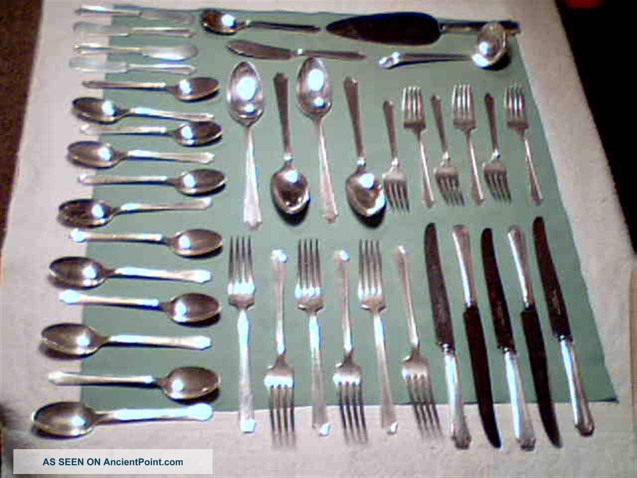 1847 Rogers Bros.  Silverplate 41 Pieces Includes Serving Pieces - Legacy - 1928 International/1847 Rogers photo