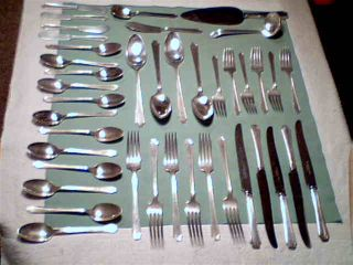 1847 Rogers Bros.  Silverplate 41 Pieces Includes Serving Pieces - Legacy - 1928 photo