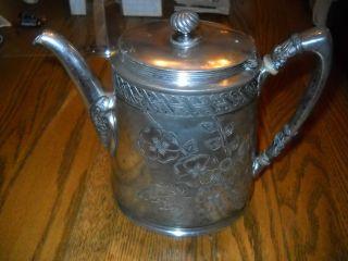 Vintage Reed & Barton Silver Plate Tea Pot photo