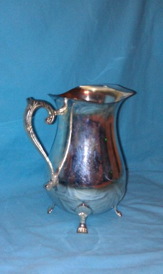Silverplated Pitcher By Intl Silver Co. photo