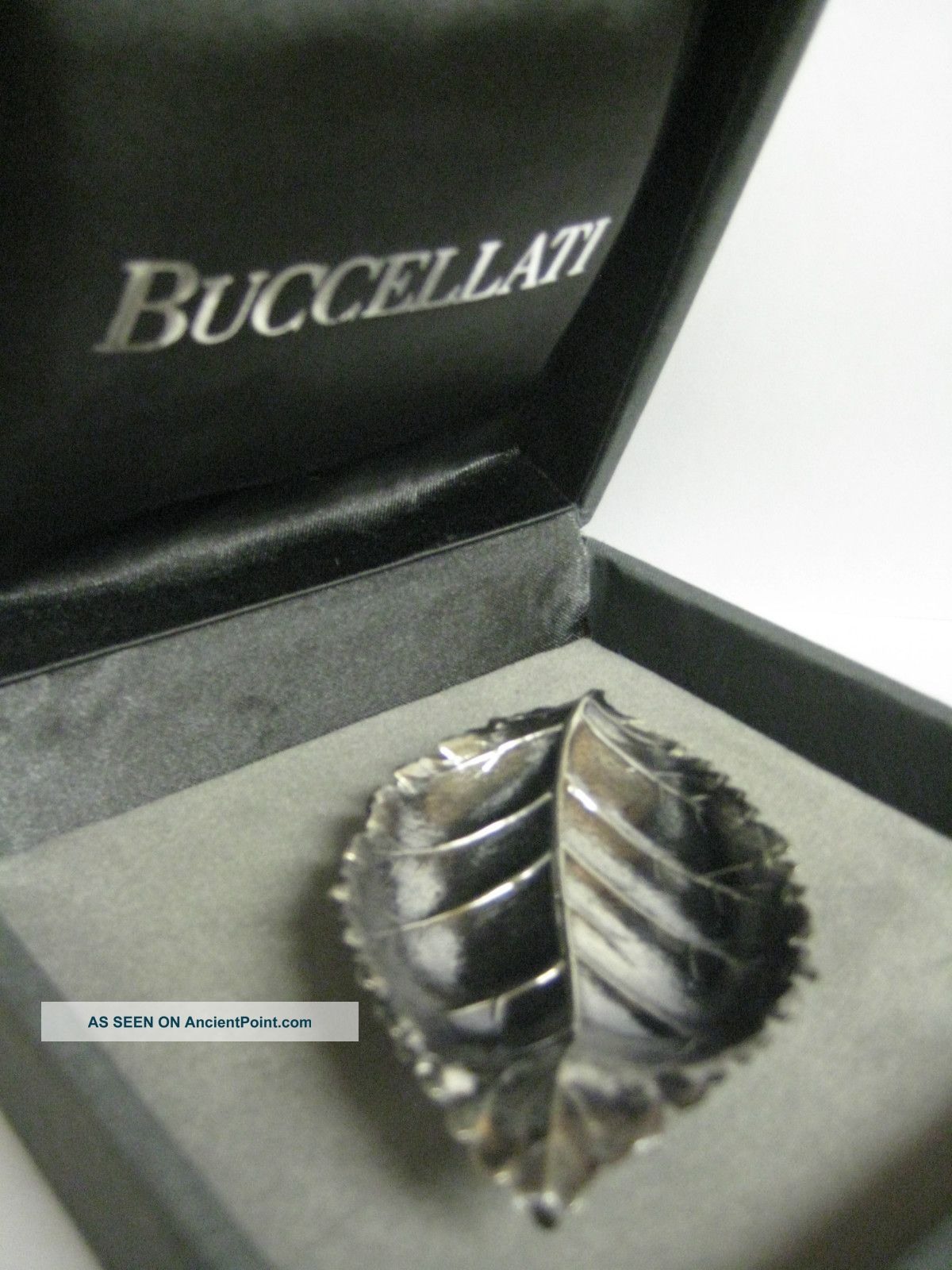Gianmaria Buccellati Sterling Silver Rose Leaf Dish Dishes & Coasters photo