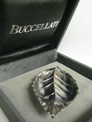 Gianmaria Buccellati Sterling Silver Rose Leaf Dish photo