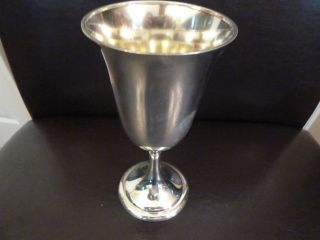 Sterling Silver Goblet - Alvin M157 photo