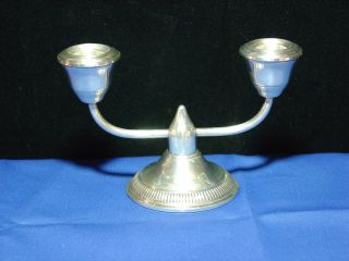 Sterling Silver Candle Holder photo