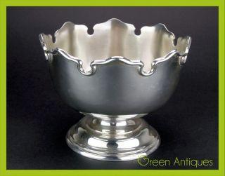 Antique 20thc Solid Silver Punch Bowl,  Elkington & Co,  Birmingham C.  1924 photo