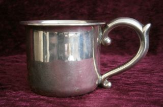 Antique 1920 ' S Sterling Silver.  950 Can/cup 52gms (not Scrap) - photo